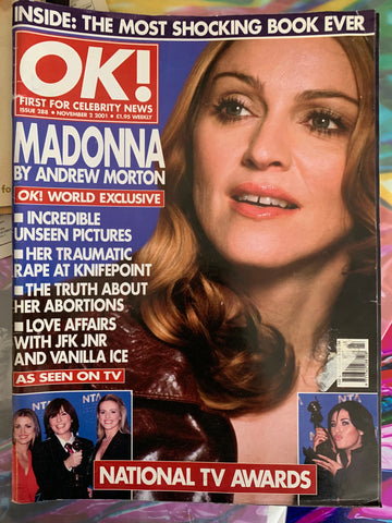 Madonna - OK! Magazine (large spread inside) 90s