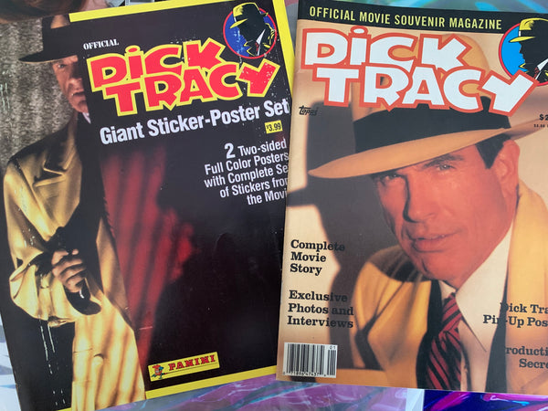 Madonna - DICK TRACY 2 magazines, trading cards