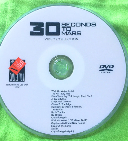 30 Seconds To Mars - DVD Video Collection