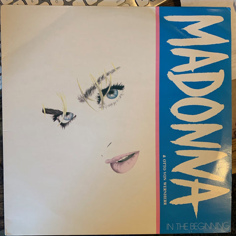 "Madonna + Otto Von Wernherr - In The Beginning 12"" + Interview LP VINYL _ used"
