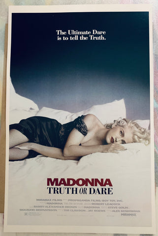 Madonna - Truth Or Dare Movie Print/Poster 11x17