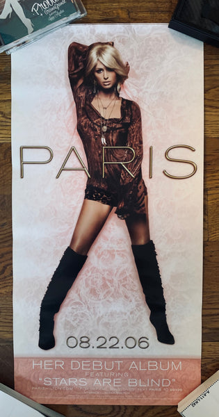 Paris Hilton - Stars are Blind - Promo Poster 12x24""