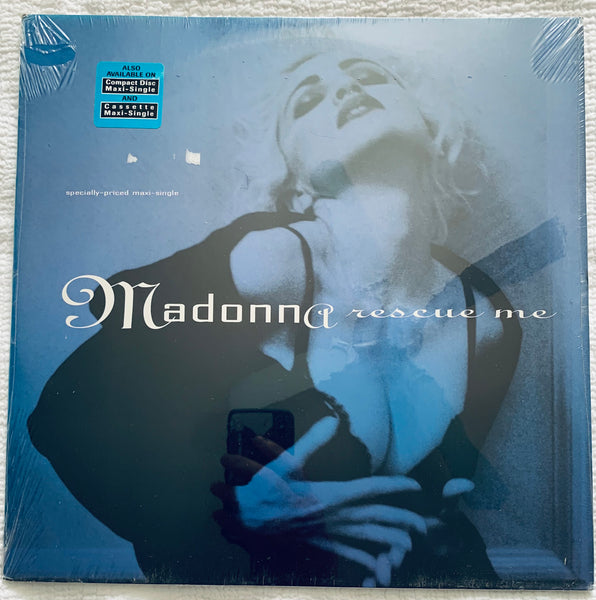 "Madonna - Rescue Me 12"" LP Original VINYL (New/sealed)"