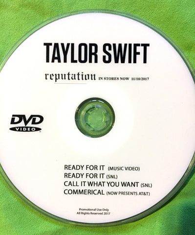 Taylor Swift - Ready For It + LIVE DVD single