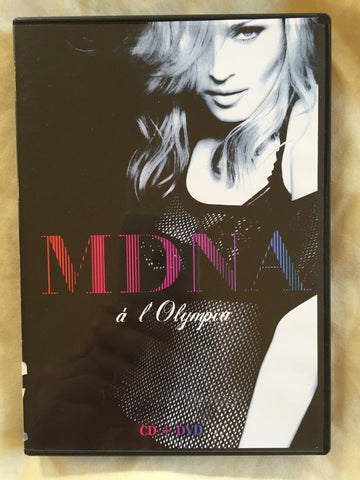 Madonna - MDNA Live at The Olympia CD + DVD