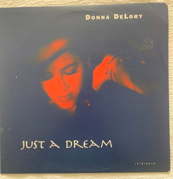 "Donna De Lory (DeLory) Just A Dream ft: Madonna '93 LP 12"" Vinyl - Used"