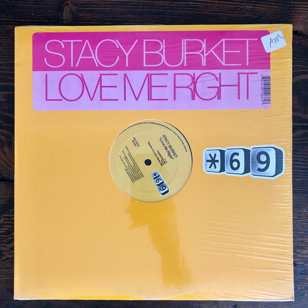 Stacy Burket ‎- Love Me Right - LP Vinyl - Factory Sealed- New
