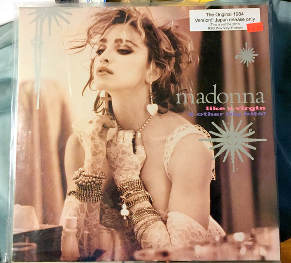 "Madonna - Like A Virgin & Other Hits 1985 Import 12"" (Original)"