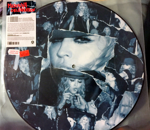 "Madonna - Celebration 12"" Picture Disc remixes LP"