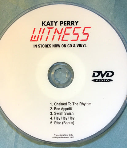 Katy Perry DVD Witness music videos