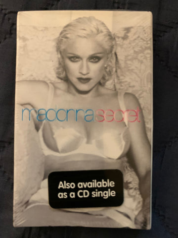 Madonna - Secret (Cassette Single) New/sealed