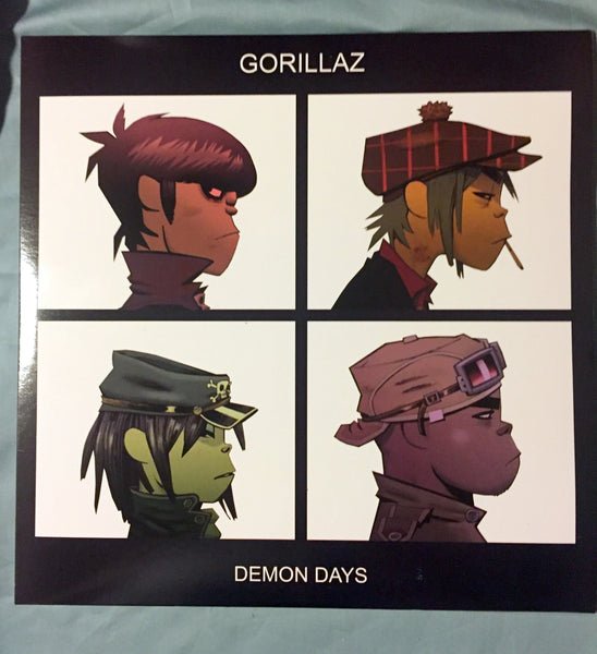 Gorillaz - Demon Days double 'colored' vinyl  LP New