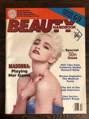 Madonna - Beauty Handbook Magazine - 1991