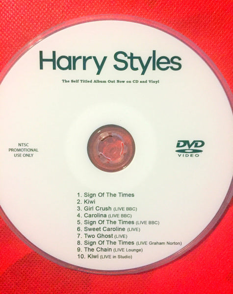 Harry Styles - Video Collection + LIVE DVD (NTSC)