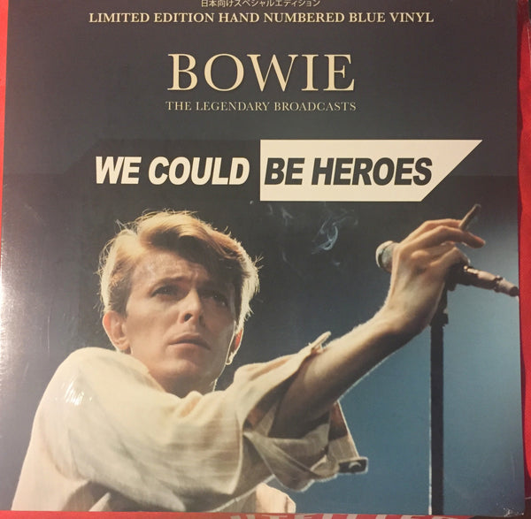 David Bowie - We Could Be Heroes Blue Vinyl - New LP
