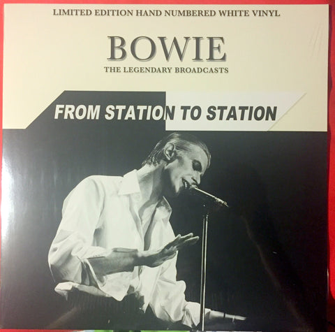 David Bowie - From Station To Station LP - New on White Vinyl