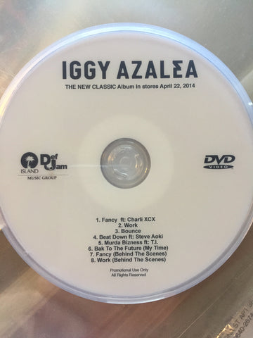 Iggy Azalea - DVD Music Videos