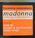 "Madonna - Nothing Really Matters - 2xLP PROMO 12"" Vinyl"