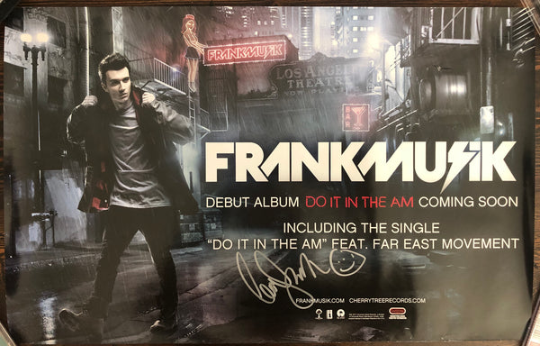 Frank Musik - Do It in the AM - Promo Poster - Autographed