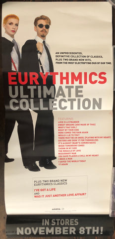 Eurythmics - Ultimate Collection - Promo Poster (double sided)
