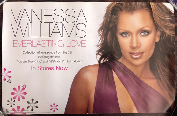 Vanessa Williams - Everlasting Love - Promo Poster (double sided)