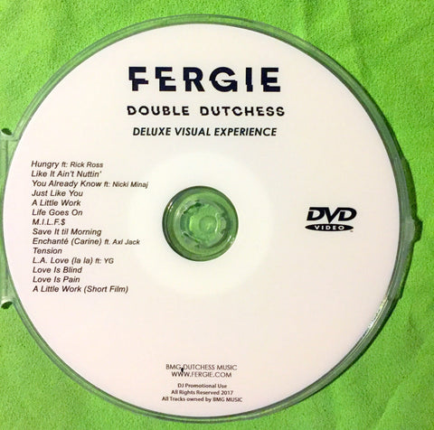 FERGIE -  Double Dutchess Visual Experience DVD (NTSC)