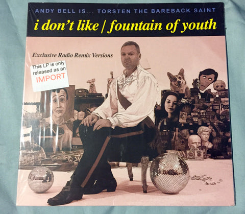 "Andy Bell - I Don't Like / Fountain of Youth 7"" Vinyl record (NEW)"