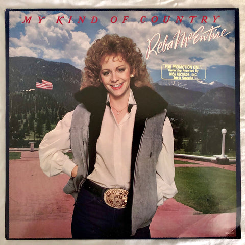 More Images  Reba McEntire ‎- My Kind Of Country - (US PROMO  LP Vinyl) Used