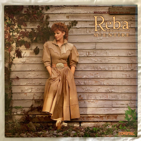 Reba McEntire ‎– Whoever's In New England - (US PROMO LP Vinyl) Used