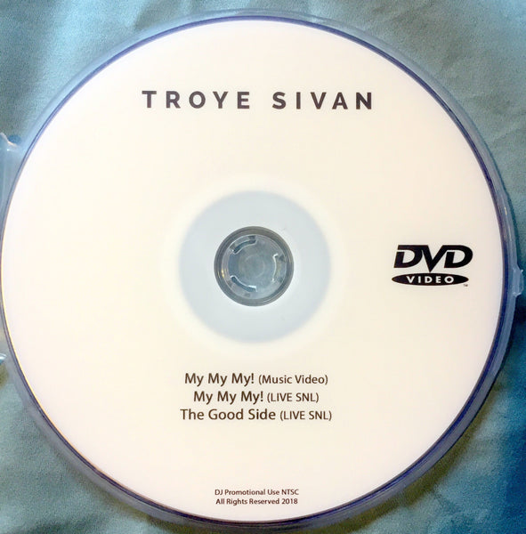 Troye Sivan - DVD single MY MY MY! + Live
