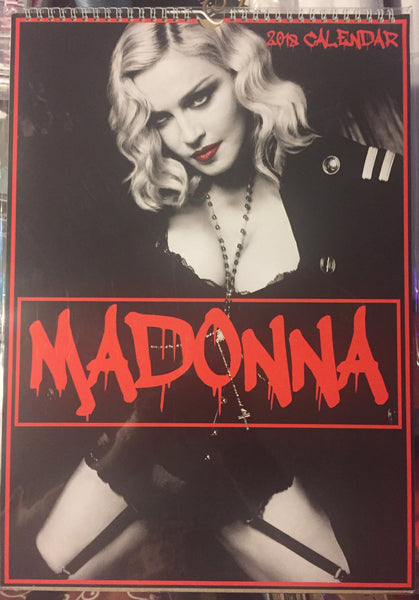 Madonna 2018 Large Import Calendar - New /sale