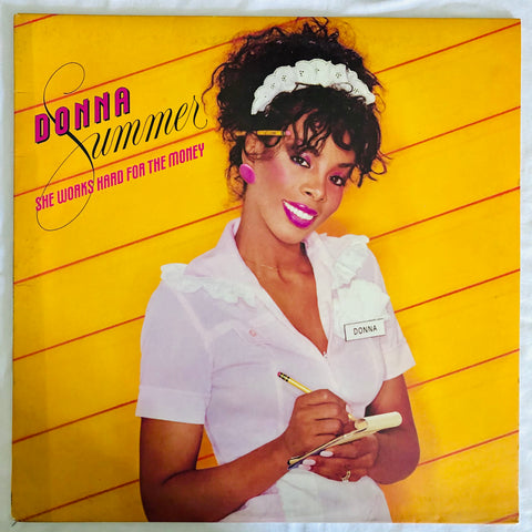 Donna Summer ‎– She Works Hard For The Money - (US  LP  Vinyl) Used