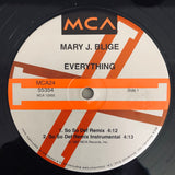 "Mary J. Blige - ""Everything"" Summer '97 - 2 x 12"" Vinyl - Used"