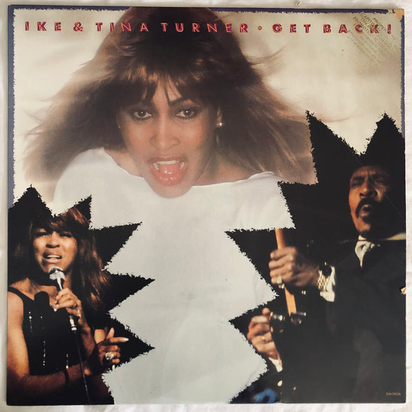 Ike & Tina Turner ‎– Get Back! - LP Vinyl - Used