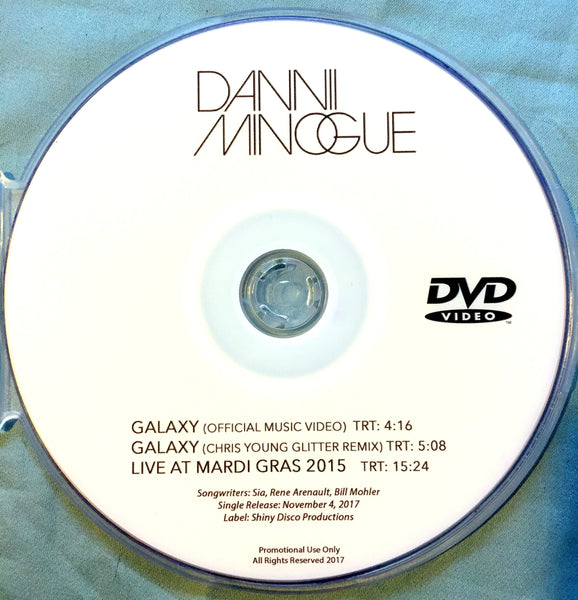 Dannii Minogue - GALAXY DVD + LIVE performance (NTSC) Promo