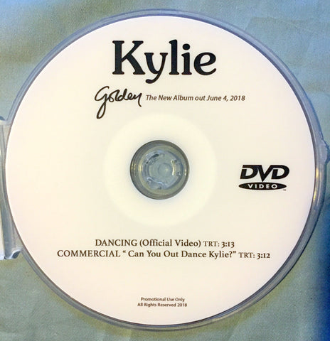 Kylie Minogue - DANCING DVD single (NTSC)