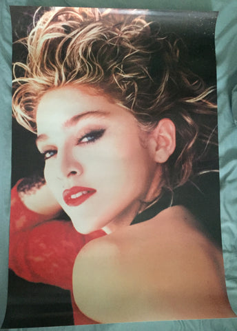 MADONNA - Large Glossy Poster 1985 Virgin Tour