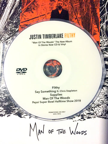 Justin Timberlake - DVD MAN OF THE WOODS videos + Super Bowl