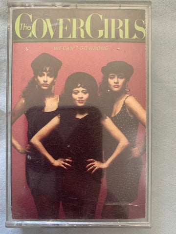 Cover Girls - We Can't Go Wrong - Audio Cassette