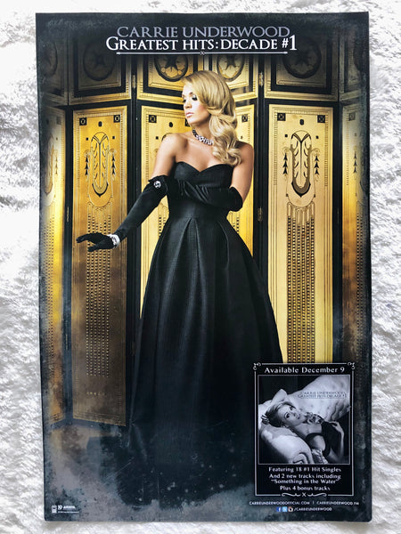 Carrie Underwood - Greatest Hits: Decade #1 - Promo Poster