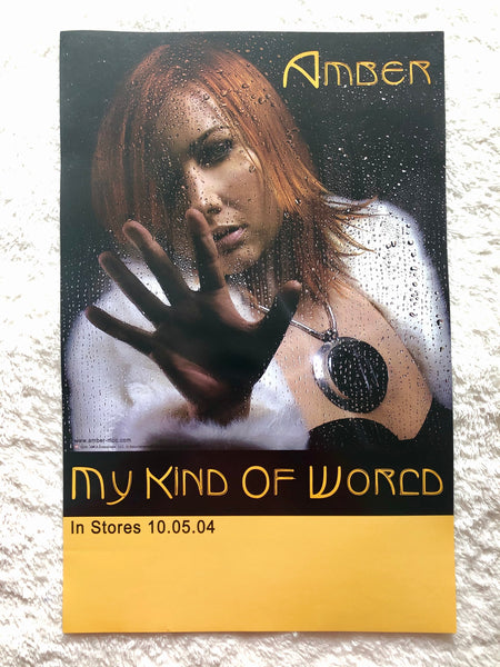 Amber - My Kind of World - Promo Poster