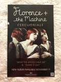 Florence + the Machine - Ceremonials - Double Sided Promo Poster
