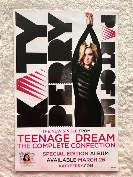 Katy Perry - Teenage Dream The Complete Confection - Part of Me - Promo Poster