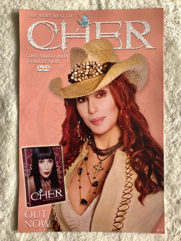 Cher - The Very Best of Cher The Video Hits Collection (Red Hair) - Promo Poster