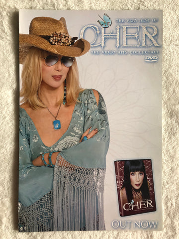 Cher - The Very Best of Cher The Video Hits Collection (Blonde Hair) - Promo Poster