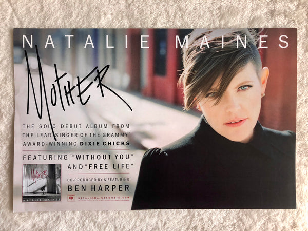 Natalie Maines of Dixie Chicks - Mother - Promo Poster