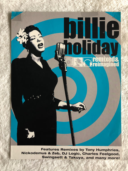 Billie Holiday - Remixed & Reimagined - Promo Poster