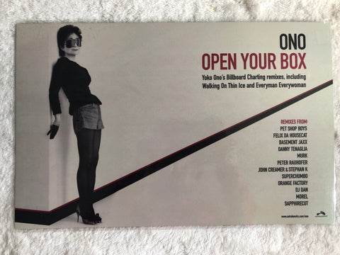 YOKO ONO - Yes, I'm a Witch - Double Sided Laminated Promo Poster