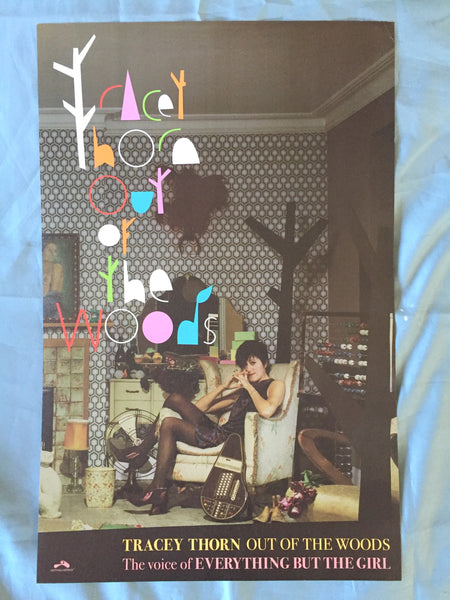 Tracey Thorn - Out of the Woods Promo poster 11x17
