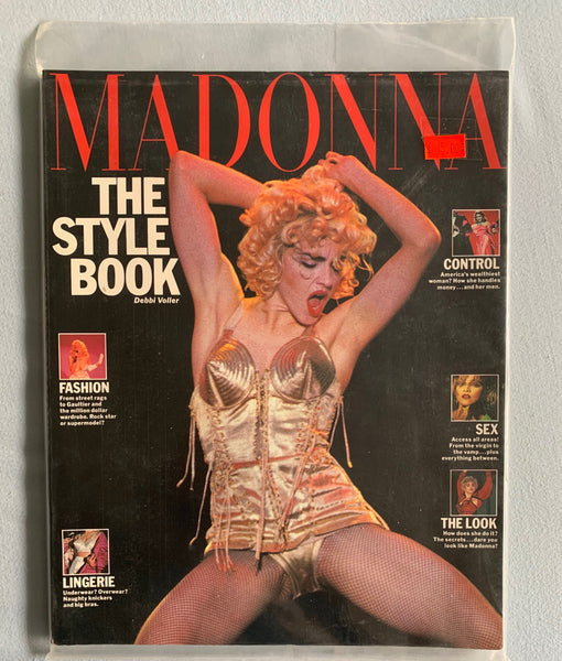 Madonna The Style Book 1992 (Blond Ambition Cover)